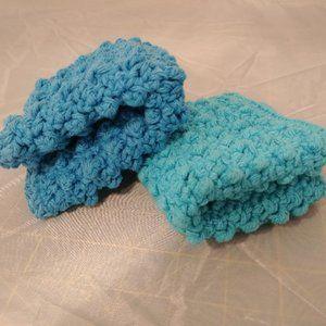 100% Cotton Washcloths, New, Set of 2, Tex…